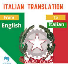 Italian Language Interpreter